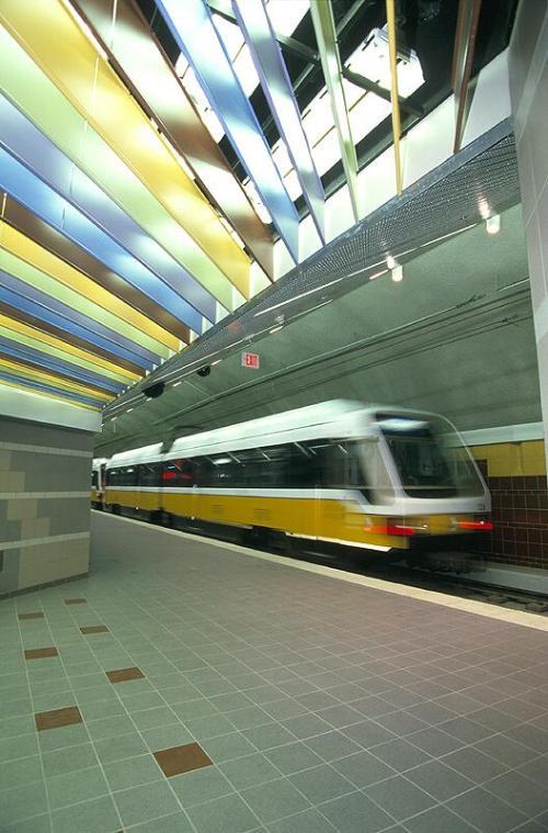 Dallas dart citiplace subway station